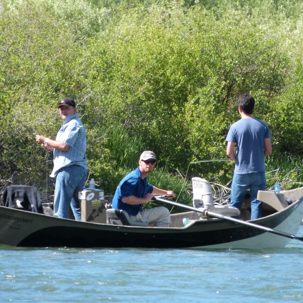 snake river fishing