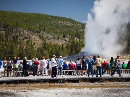 Old Faithful Yellowstone Trip