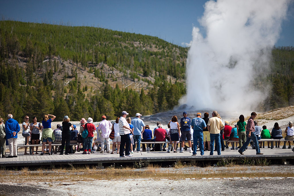 Old Faithful Geyser Tours At Yellowstone National Park